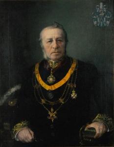Portret van Wilhelmus Petrus Adrianus Mutsaers (1833-1907)