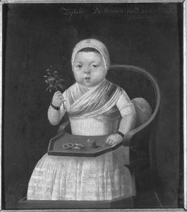 Portret van Zytske Boleman (1784- )