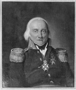 Portret van Guillaume Anne de Constant Rebeque (1750-1832)