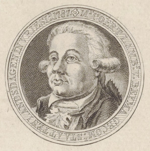 Portret van Coert Lambert van Beyma thoe Kingma (1753-1820)