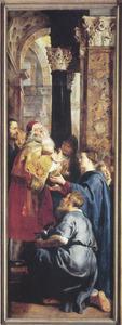 De opdracht in de tempel: Simeon ontvangt het Christuskind