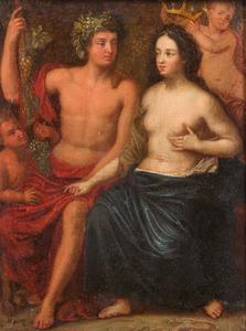 Bacchus en Ariadne: allegorie op de Herfst