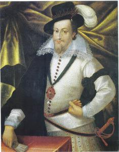 Portret van Christiaan IV van Denemarken (1577-1648)
