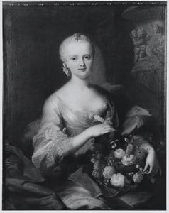 Portret van Anna Sophia Dorothea von Riedesel zu Eisenbach (1727-1803)
