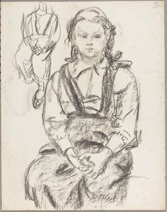 Sabine, dochter van de kunstenaar