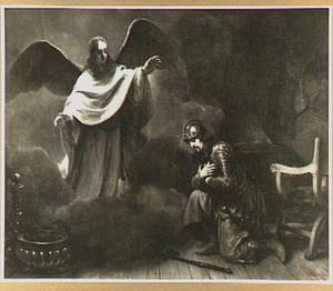 De engel des Heren verschijnt aan de hoofdman Cornelius (Handelingen 10:1-6)