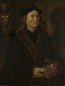 Portret van Johannes Colmannus (1471-1538)