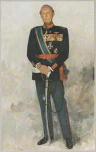 Portret van Bernhard prins van Lippe -Biesterfeld (1911-2004)
