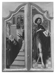 De tempelgang van Maria; De H. Johannes de Doper