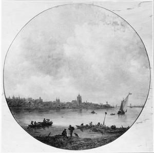 Gezicht op Arnhem
