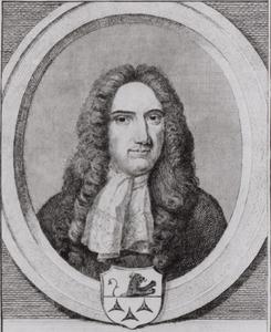 Portret van Willem Roukens (1655-1705)