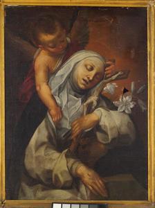 De stigmatisatie van de H. Catharina van Siena