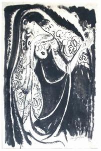De danseres Gertrud Leistikow