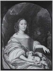 Portret van Jacquemijna le Pla (1647- )