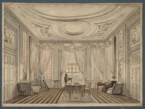 Portret van Willem Gustaaf Frederik Graaf van Reede-Ginkel (1780-1844) en Wendela Eleonora Boreel (1792-1868)