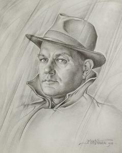 Portret van Marten Nauta (1896-1957)