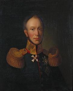 Portret van koning Willem II (1792-1849) als kroonprins