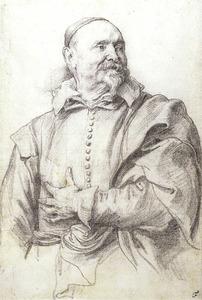Portret van de schilder Jan Snellinck I (1549-1638)
