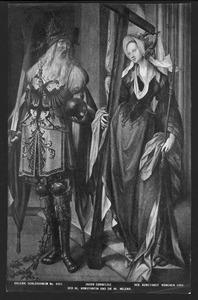 Keizer Constantijn en de H. Helena