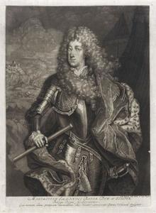 Portret van Maximilian II Emanuel Kurfürst von Bayern (1662-1726) als landvoogd van de Spaanse Nederlanden