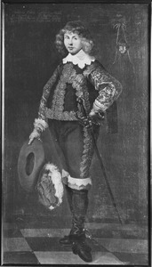 Portret van Christiaan Bielke (1616-1642)