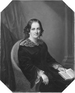 Portret van Joanna Alewijn (1810-1875)