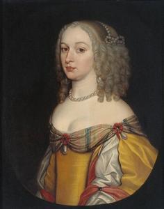 Portret van Amalia Margaretha van Brederode (1626/1627-1663)/1665)