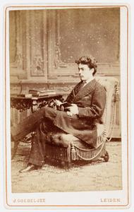 Portret van Izak Alexander Nederburgh (1861- )