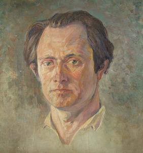 Zelfportret van Marinus Heijnes (1888-1963)