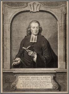 Portret van Rudolph Arend ten Brink (1725-1775)