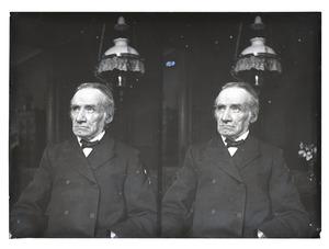 Portret van een man, waarschijnlijk Jan Gerrit Kam (1833-1917)