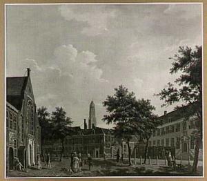 Het Janskerkhof in Utrecht