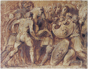 Romeinse gevechtsscène
