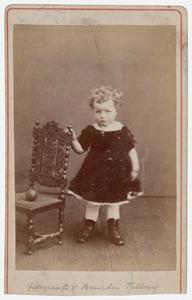 Portret van een onbekend kind