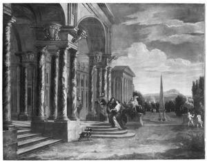 Barokpaleis met de Visitatie (Maria bezoekt Elizabeth)