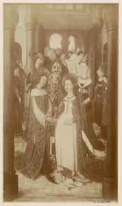 Het huwelijk van de H. Hendrik II met de H. Kunigonda (?)