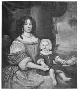 Dubbelportret van Ida van Ittersum (1647-1729) en haar zoon Ernst Hendrik van Ittersum (1669-1733)