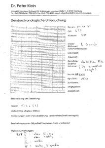 dendrochronology