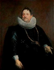 Portret van de muntmeester en medailleur Jan van Montfort (1595-1649)