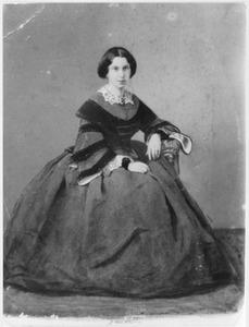 Portret van Ernestina della Posta di Civitella (1829-1888)