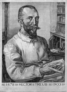 Portret van Hector Treub (1856-1920)