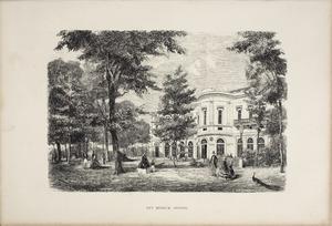 Het Groote Museum aan de tuinzijde