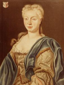 Portret van Aleijdis Richarda Gertrudis Haeck ( ?-1760)