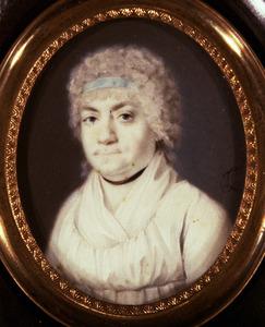 Portret van Franciska Joh. Henrietta Lormier (1754-1805)