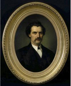 Portret van Derk Anthony Thieme (1830-1879)