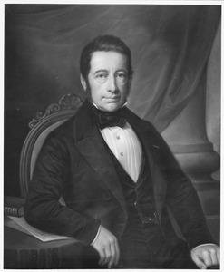 Portret van Floris Willem van Styrum (1801-1873)
