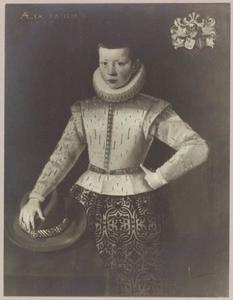 Portret van Sjuck (Tjaard) van Burmania (1597-1650)
