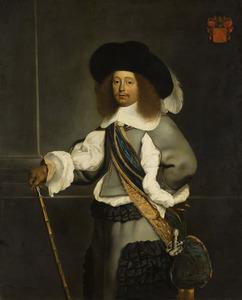 Portret van Nicholaes Oetgens van Waveren (1622-1684)