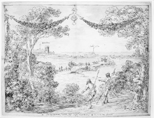 Het doorsteken van de dijken bij Berkel en Roderijs tijdens het beleg van Leiden, 1573-1574