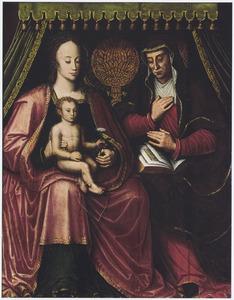 Maria en kind met Sint-Anna